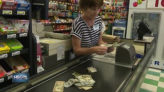 Money mystery at grocery store