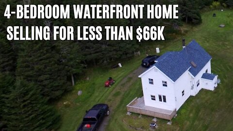 There's A Huge 4-Bedroom House For Sale In Nova Scotia & It Costs Less Than $66K