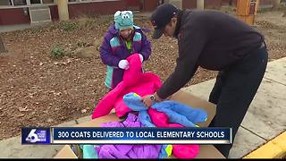 Boise firefighters give coats to kids in need - Video