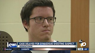 Case delayed for Synagogue shooting suspect
