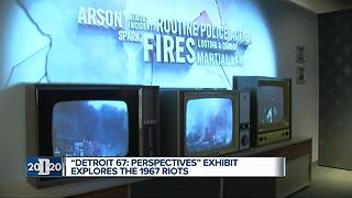 WXYZ's sneak-peek of 'Detroit 67: Perspectives' at Detroit Historical Museum - Video