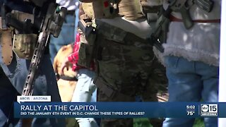 2nd Amendment rally at the state capitol