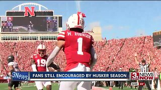 Fans still encouraged by Husker season
