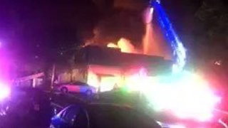 Resident Captures San Marcos Apartment Building on Fire - Video