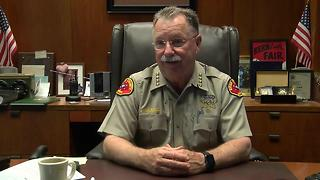 Sheriff Donny Youngblood discusses July 1, 2017 gun laws, arrest of deputy - Video
