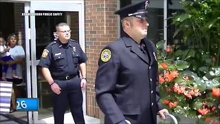 Ashwaubenon officer hit by alleged drunk driver released from hospital - Video
