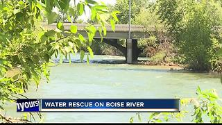Boise Fire rescues elderly woman from drowning - Video