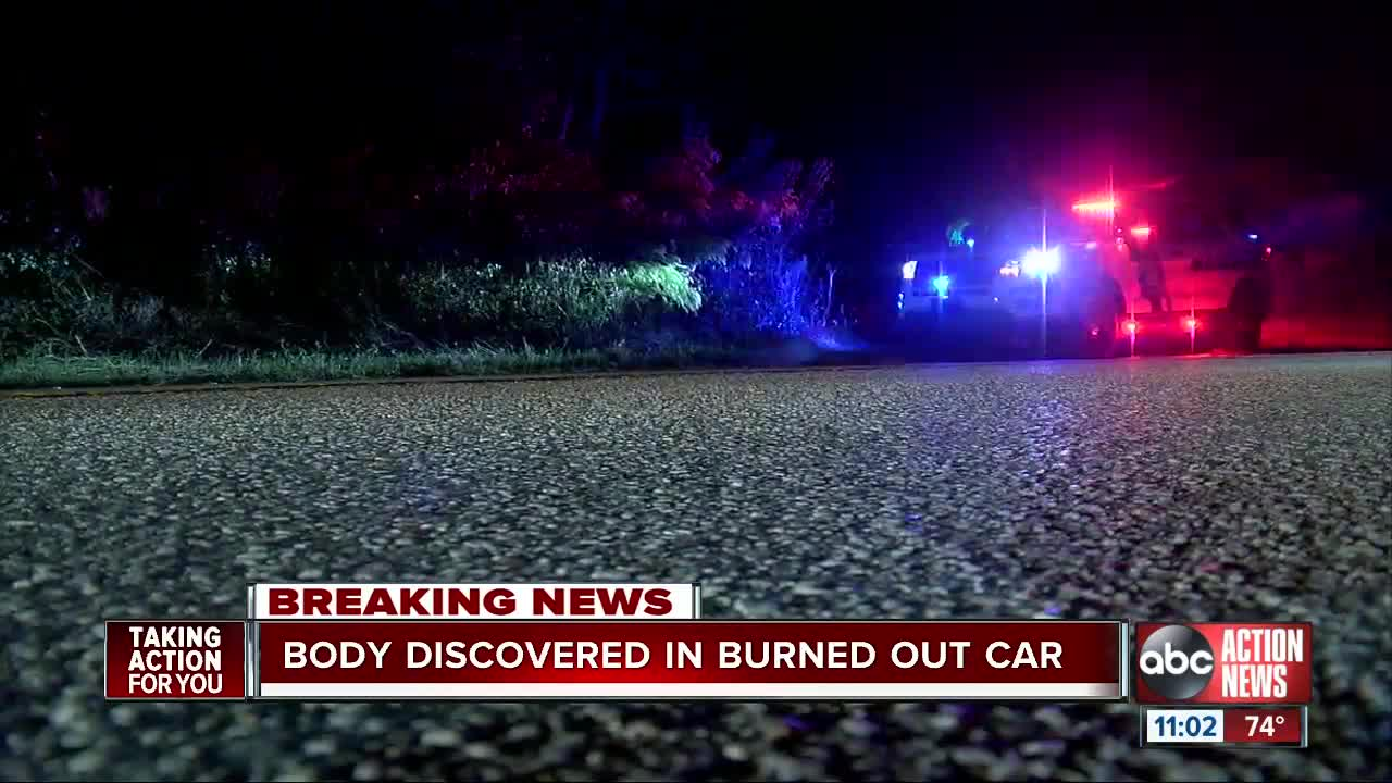 Body found in burned vehicle in Pasco County, investigation underway
