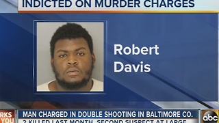 Man charged in double shooting in Baltimore County - Video