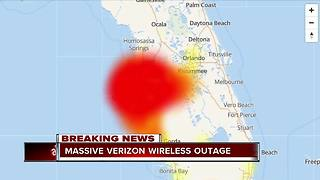 Thousands of Verizon outages reported across Tampa Bay area - Video