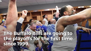 Bills Send Bengals Thank You For Playoff Birth - Video