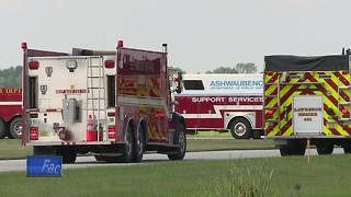 Austin Straubel International Airport runs mock disaster drill - Video