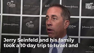 Seinfield Takes Family to Vacation in Israel, Learns How to Fight Terrorists - Video