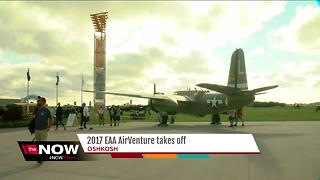 2017 EAA AirVenture takes off - Video