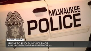 Groups try to get message out to end violence in Milwaukee at the DNC