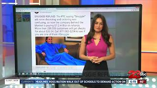 Refunds after misleading Snuggie Ads