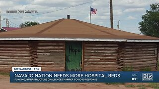Navajo Nation struggling for additional resources amid coronavirus outbreak
