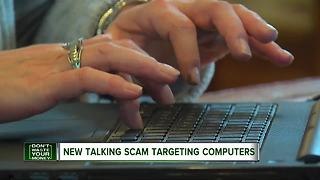 New talking scam targeting computers - Video