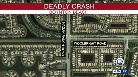 Intersection partially reopens after deadly crash