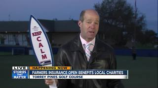 Farmers Insurance Open benefits local charities - Video