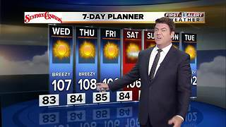 13 First Alert Weather for Aug. 8 - Video