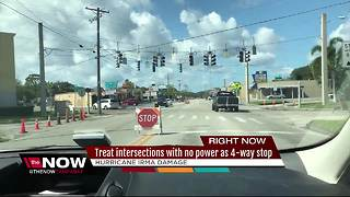 What to do at a non-working traffic light - Video