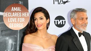 Amal's speech for George Clooney will make you cry - Video