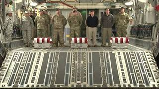 RAW: The dignified transfer of Staff Sgt. Kevin McEnroe - Video