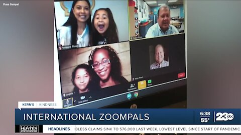 Kern's Kindness: Elementary school students connect with others through Zoom