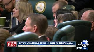 Colorado lawmakers lay out agendas, but harassment takes center stage at onset of 2018 session - Video
