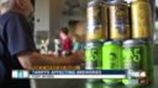 Tariff on aluminum and steel affecting local breweries