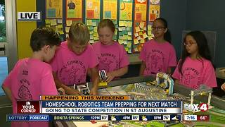 Homeschool robotics team qualifies for state competition - 7am live report - Video