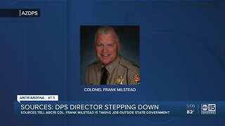 Colonel Frank Milstead stepping down from Department of Public Safety