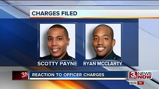 Omaha Police Officers' Association condemns charges against officers - Video