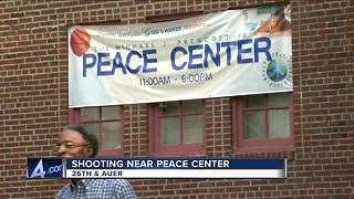 Weekend shooting occurs outside Michael J. Prescott  Peace Center - Video