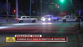 Homicide at Island Grill nightclub in Tampa - Video