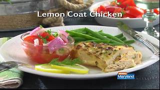 Mr. Food - Lemon Coat Chicken - Video