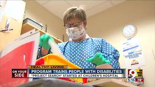 Cincinnati Children's program helps people with disabilities get a job - Video