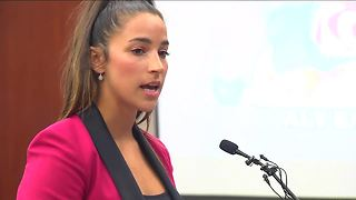 Gold Medalist Gymnast Aly Raisman Speaks at Larry Nassar's Sentencing Hearing - Video