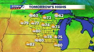 Meteorologist Jesse Ritka's Friday evening Storm Team 4cast - Video