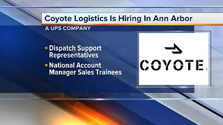 Workers Wanted: Coyote Logistics is hiring in Ann Arbor - Video