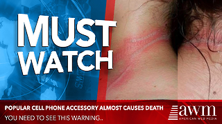 She Never Thought Her Cell Phone Could Do This To Her. Now She Has A Warning For Others - Video