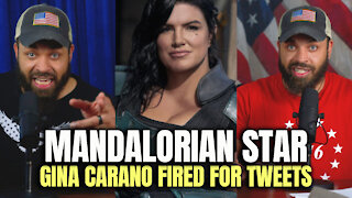 Mandalorian Star Gina Carano Fired For Tweets