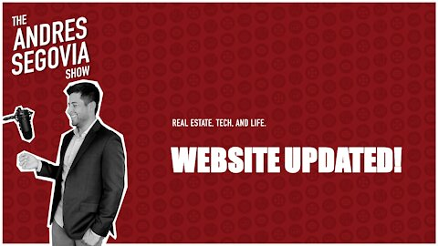 Check Out My Updated WEBSITE!