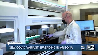 New COVID-19 variant spreading in Arizona