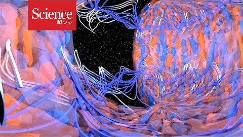 360 Video: Inside the heart of a star's magnetic field.