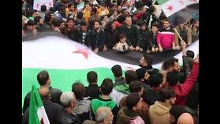 Protesters in Opposition-Held Areas Mark Eighth Anniversary of Syrian 'Uprising' - Video