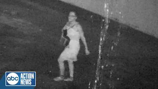 Surveillance Video: Police search for suspect in July murder case - Video