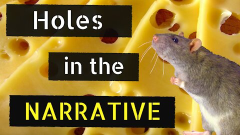 """🧀""""Holes in the Narrative"""" Feat. Dr. Yasir Qadhi (Squeaky Mouse Version)🐭"""