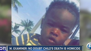 M. Examiner: No doubt child's death is homicide - Video